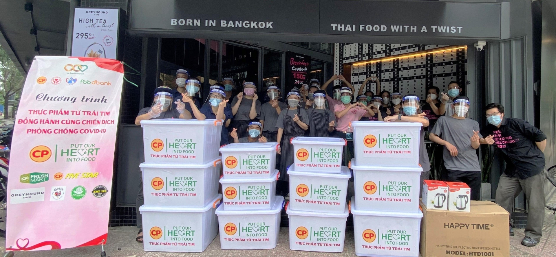 C.P. Vietnam prepares heartfelt donations of food to support pandemic effort