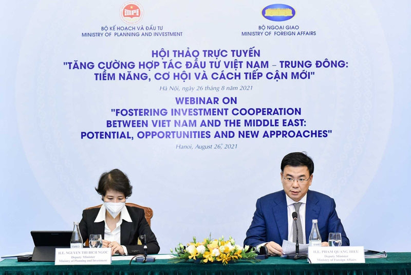 Three breakthrough directions for investment between Vietnam and the Middle East