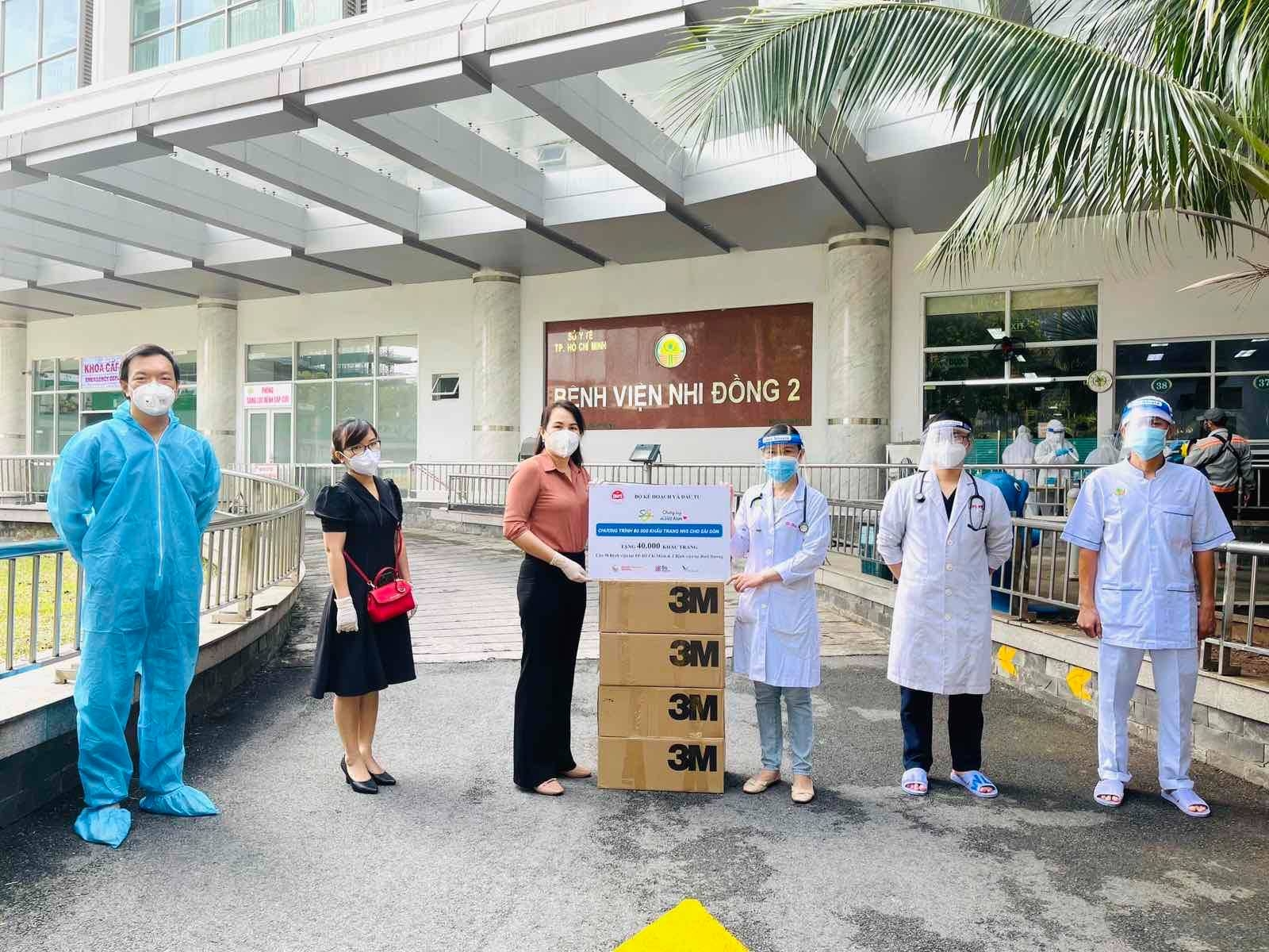 MPI donates face masks to COVID-19 front liners in Ho Chi Minh City