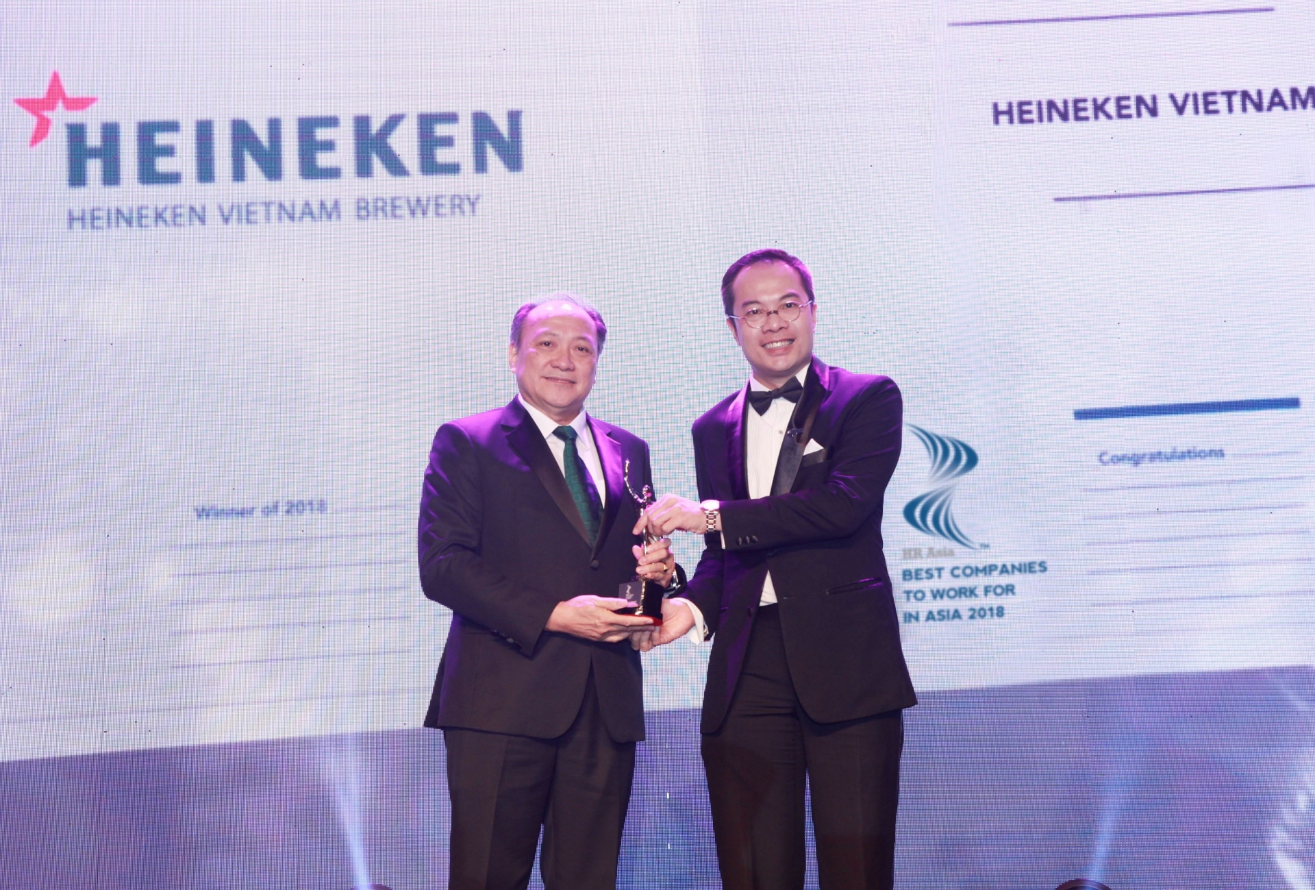 heineken vietnam honoured amongst best companies to work for in asia
