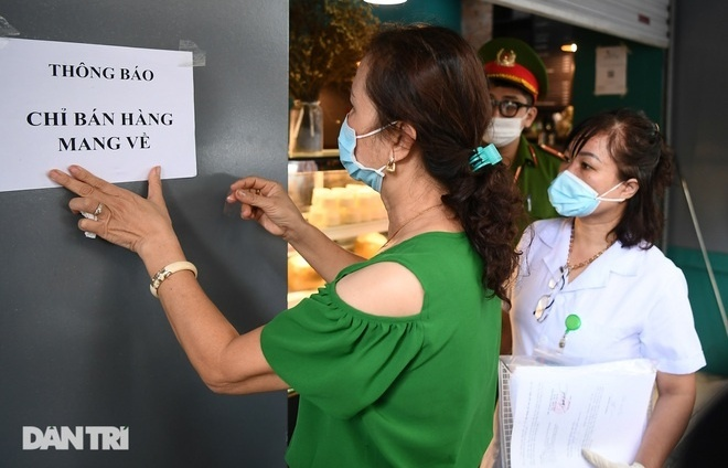 Takeaways and some services in Hanoi's 22 districts allowed to resume