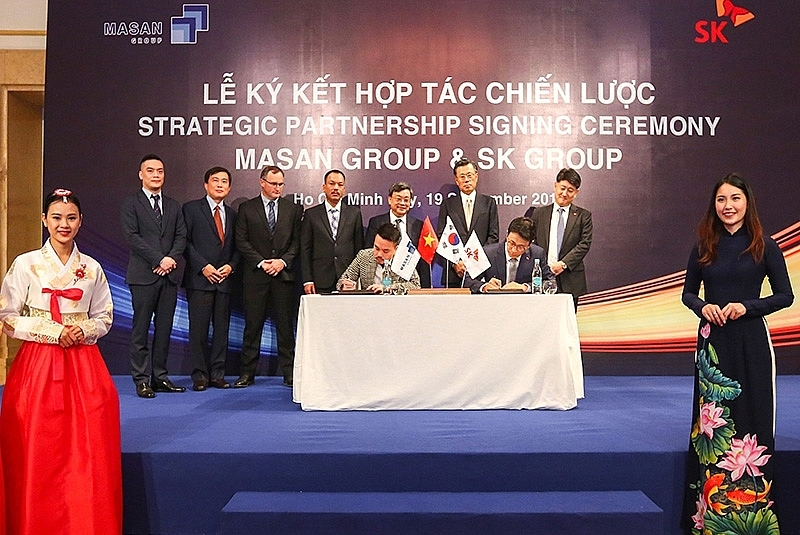 Masan Group and SK Group complete strategic partnership deal
