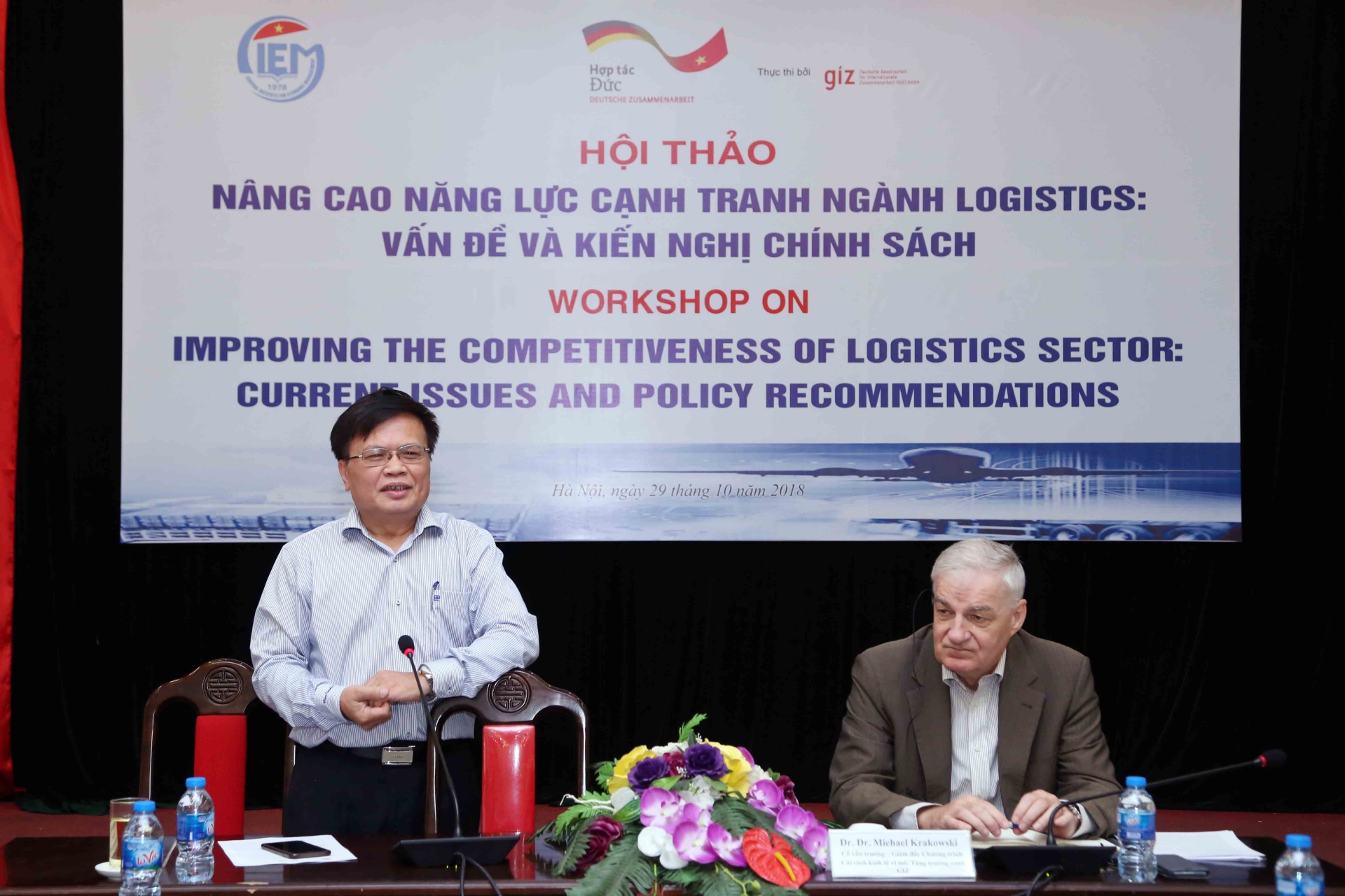 Improving competitiveness of the Vietnamese logistics sector