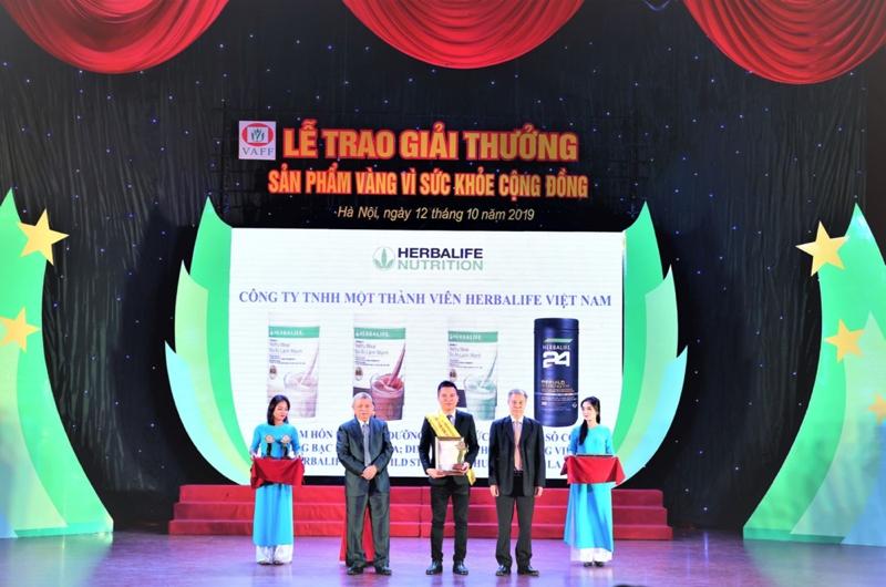 Herbalife Vietnam wins Golden Product for Public Health award in 2019
