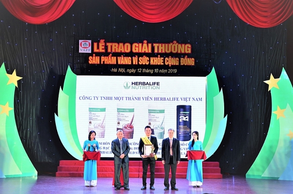 herbalife vietnam wins golden product for public health award in 2019