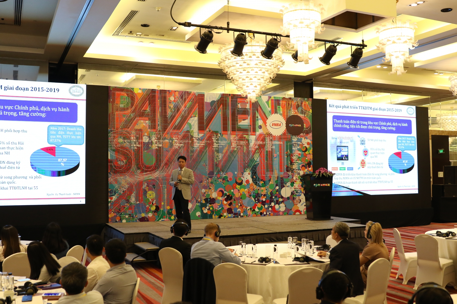 Building a digital ecosystem for non-cash payment