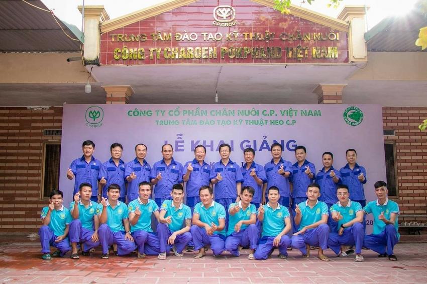 cp vietnam wins enterprises accompanying farmers title