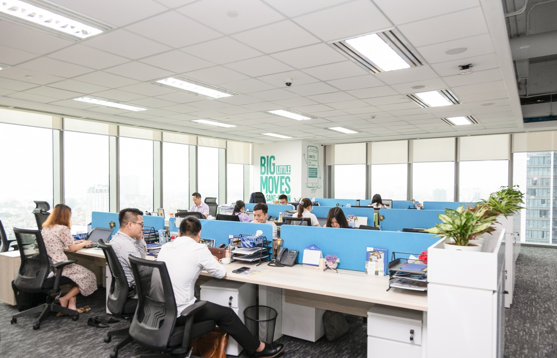Saint-Gobain Vietnam's office confirms coveted Green Construction LOTUS Gold