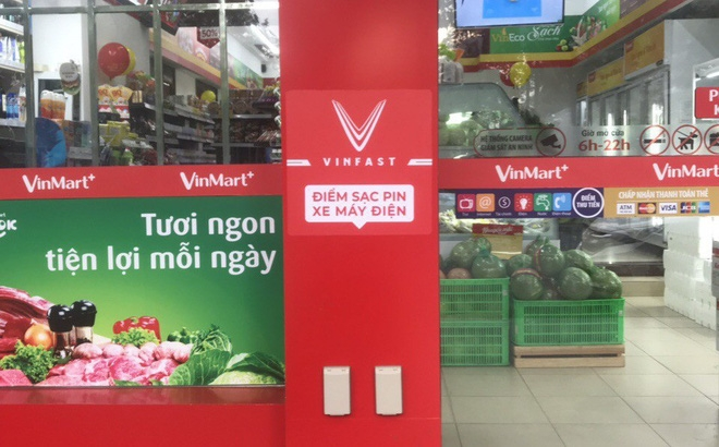 VinMart+ charging points to be deployed across two major cities