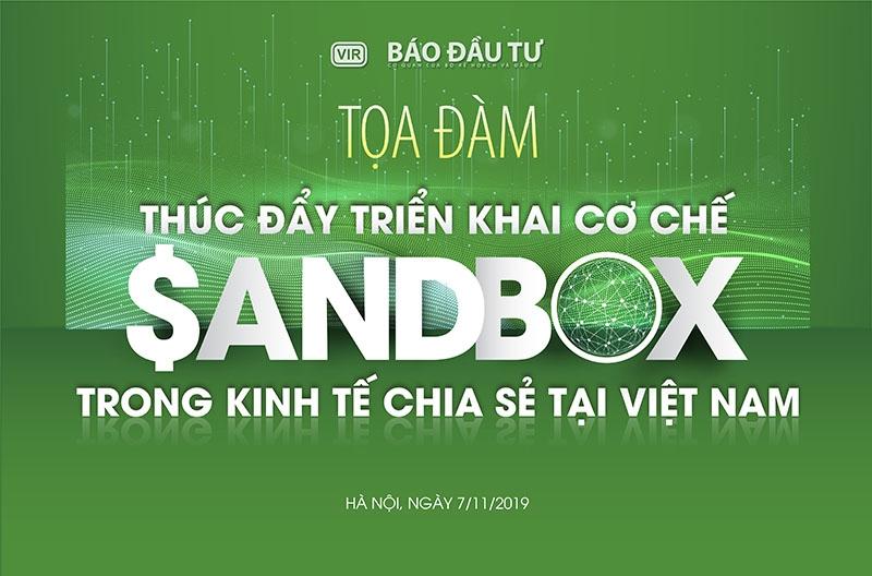 Testing Sandbox to develop sharing economy