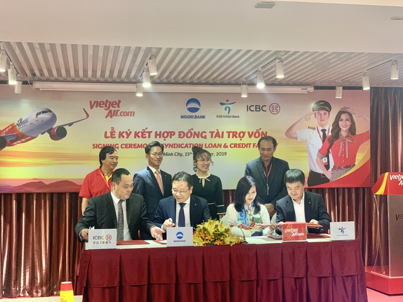 Vietjet signs credit loan for medium and long-term financing programme