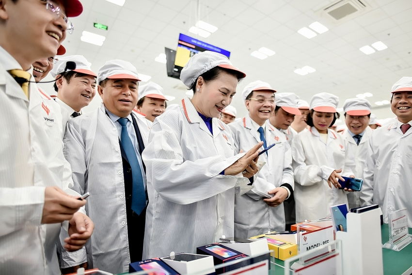 vinsmart manufacturing plant officially put into operation