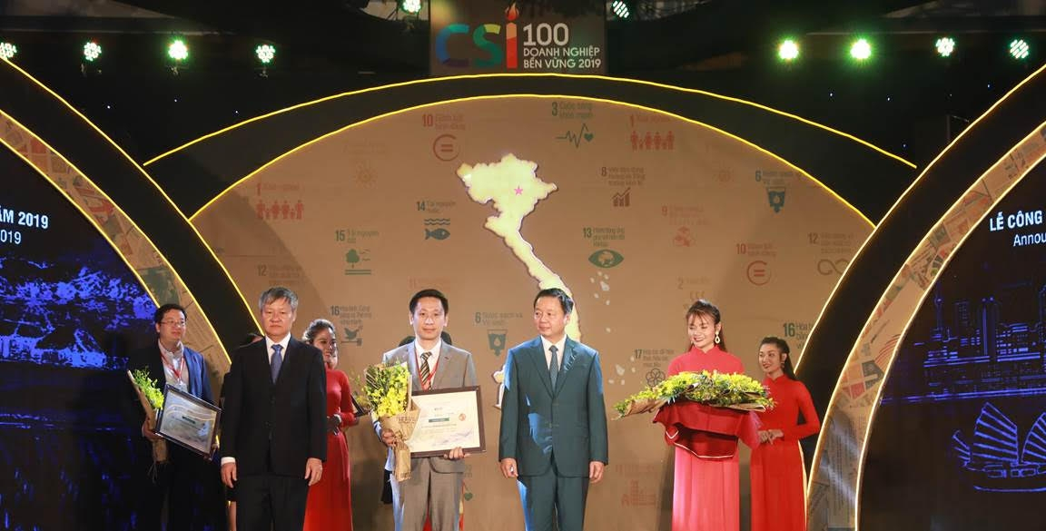 Nestlé named as Vietnam's top 10 Sustainable Businesses 2019