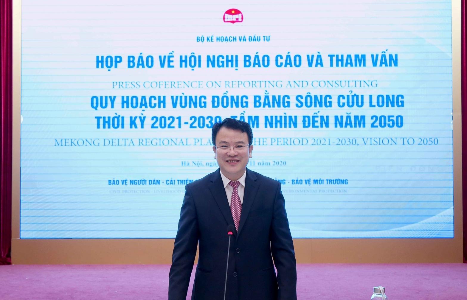 Building Mekong Delta regional plan in 2021-2030, vision to 2050