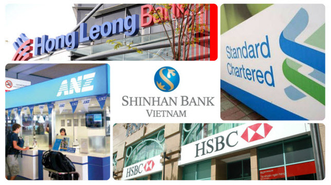 Standard Chartered, ANZ and Citibank's brand score at the bottom of the list