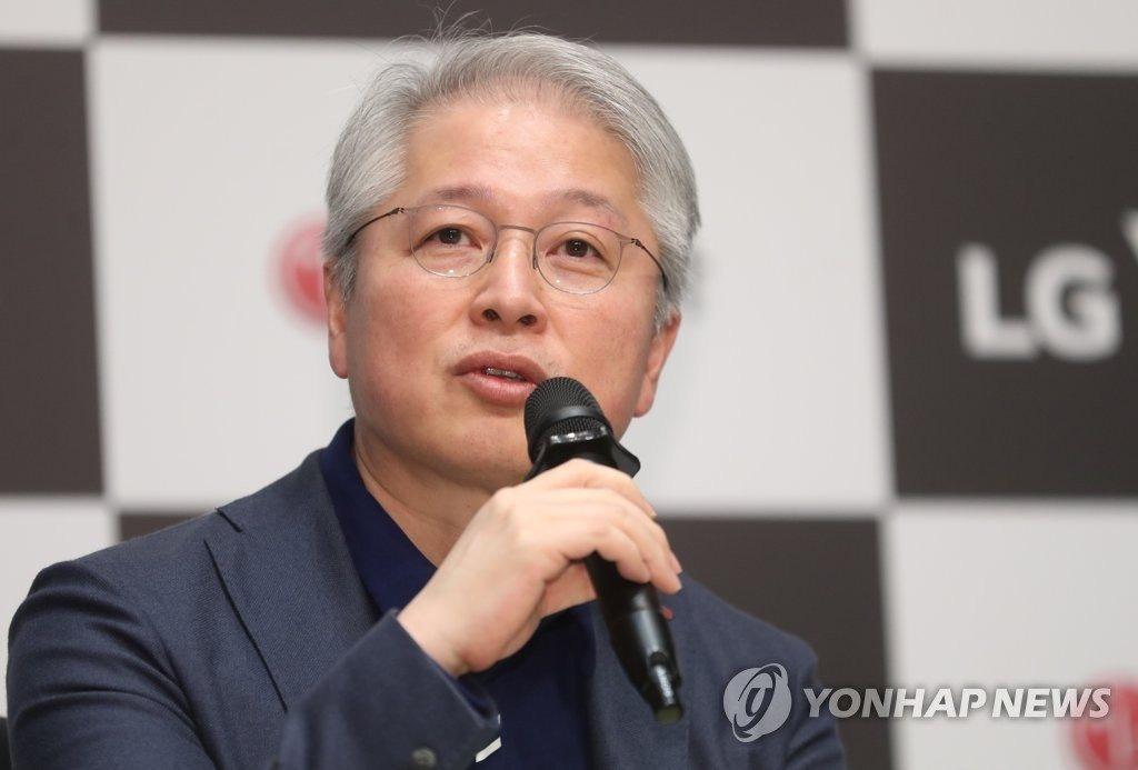 LG Electronics replaces CEO after net profit slumps