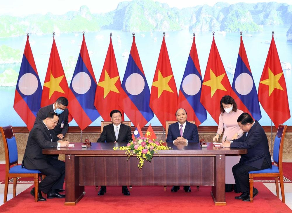 Strengthening Vietnam- Laos economic ties