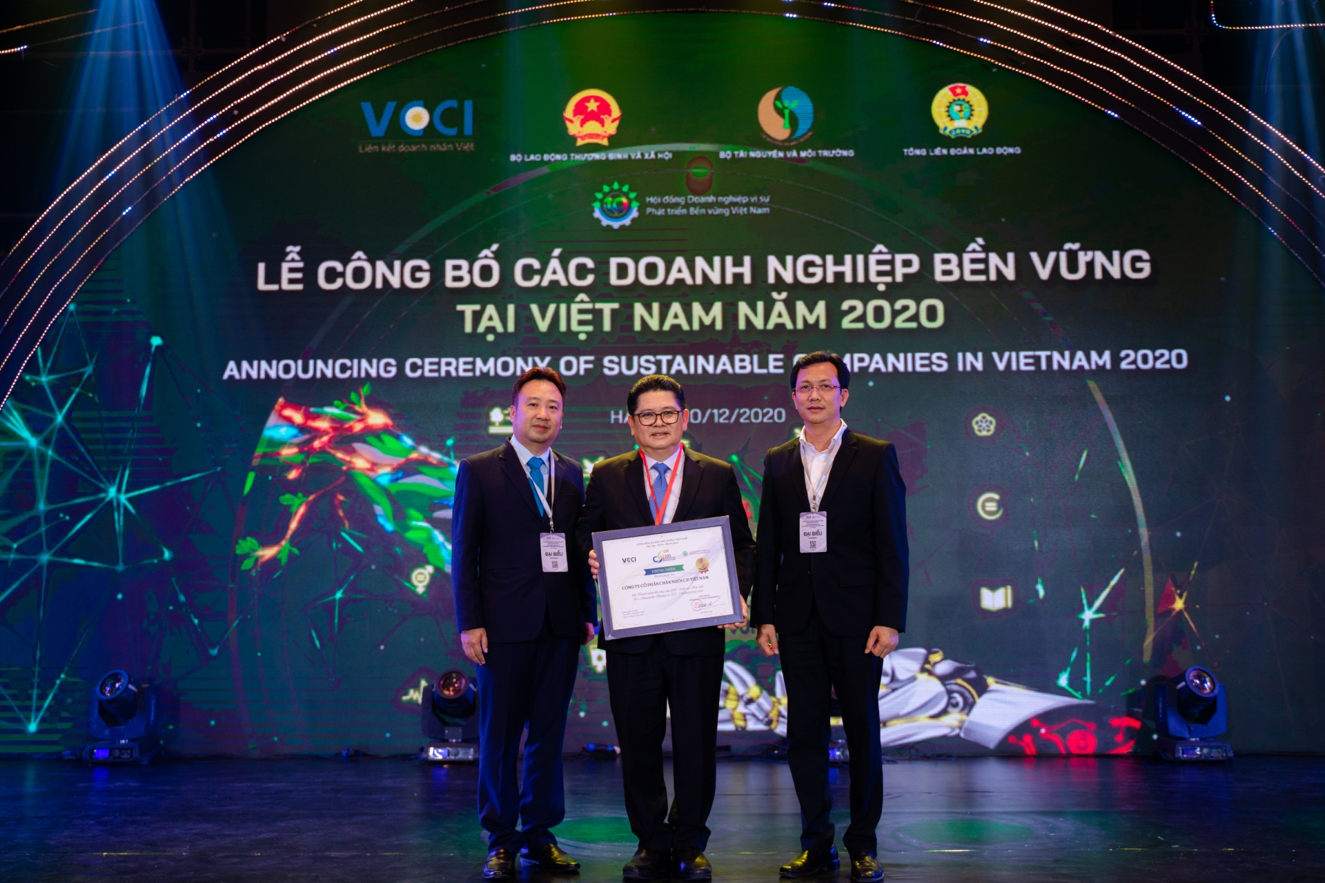 C.P. Vietnam in top 10 sustainable business list for manufacturing
