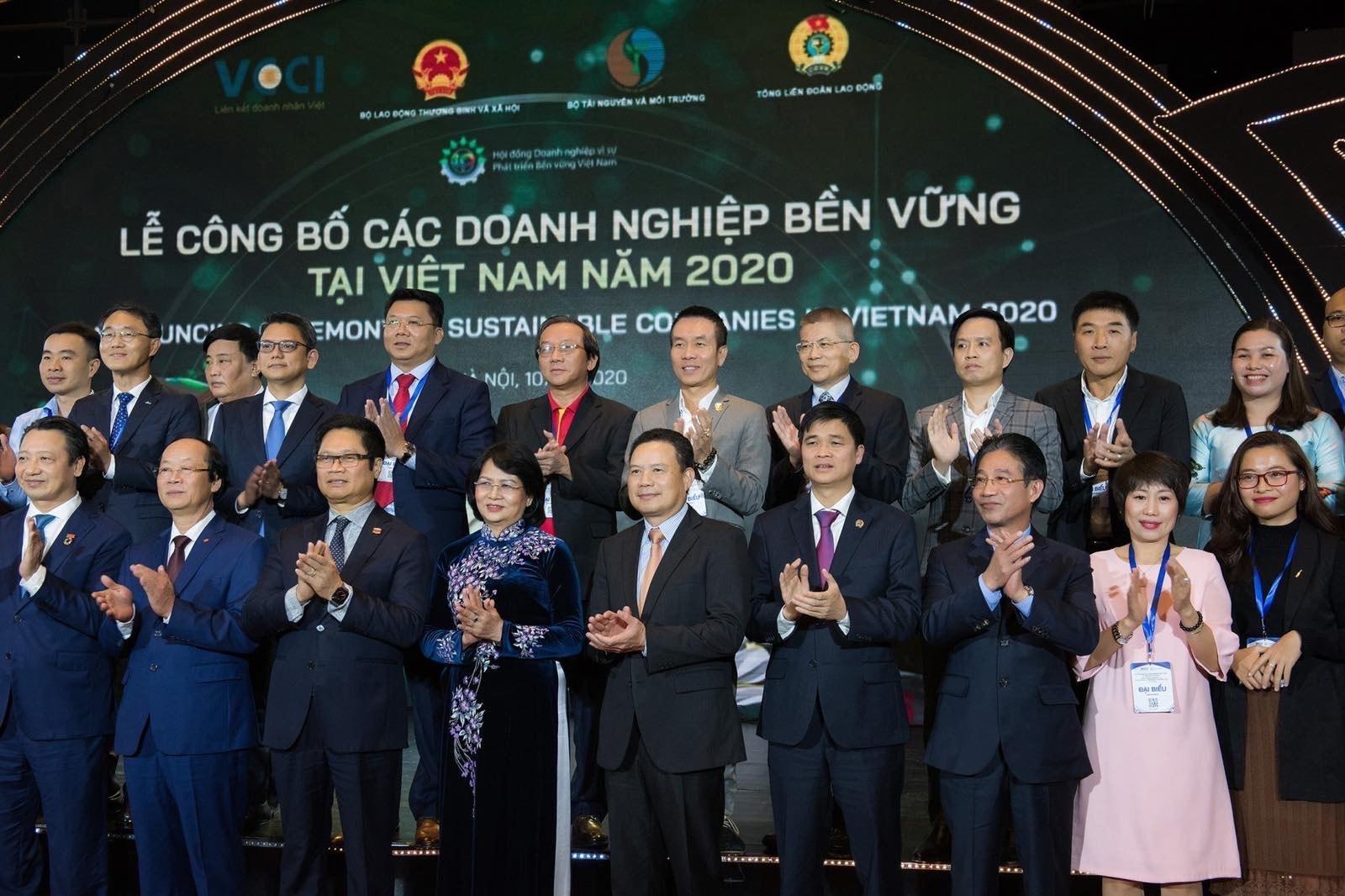 Anheuser-Busch InBev Vietnam honoured as Top 100 Sustainability Companies 2020