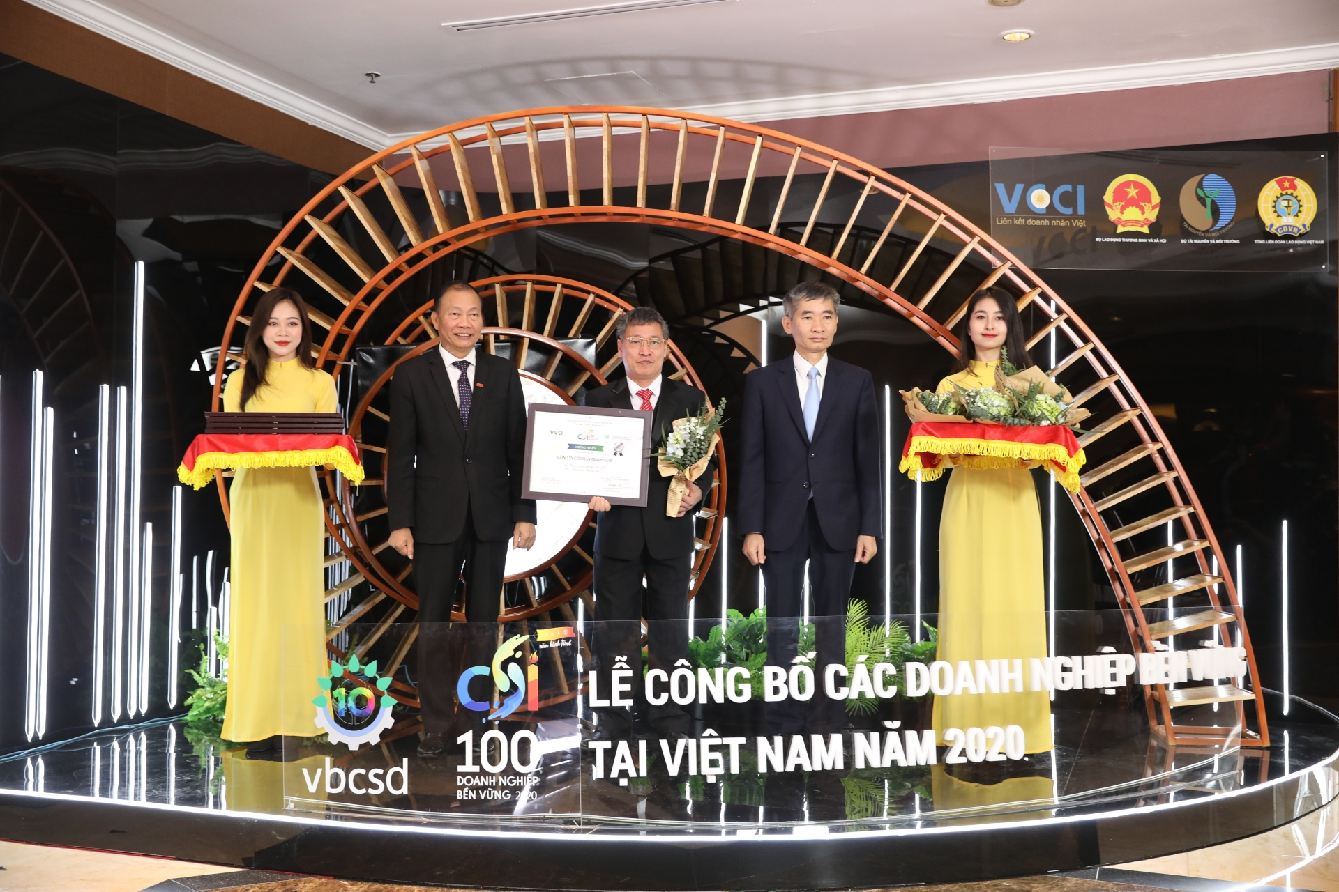 Traphaco listed among Vietnam's top Sustainable Companies in 2020