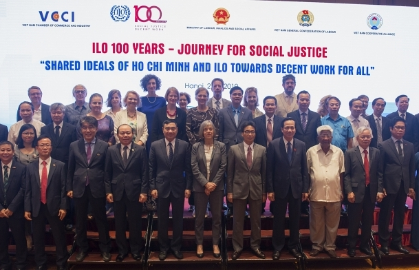 Vietnam and ILO celebrate 100 year journey for social justice