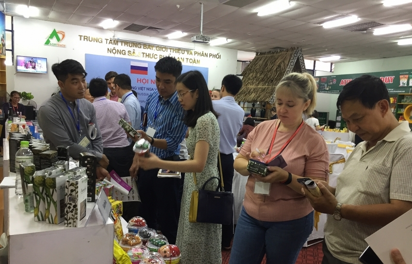 Russian giants come to Vietnam business matching with retailers