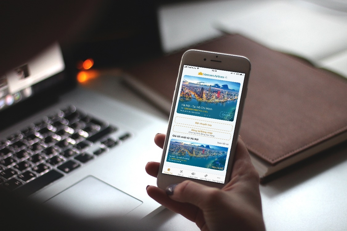 vietnam airlines launches new cutting edge mobile application