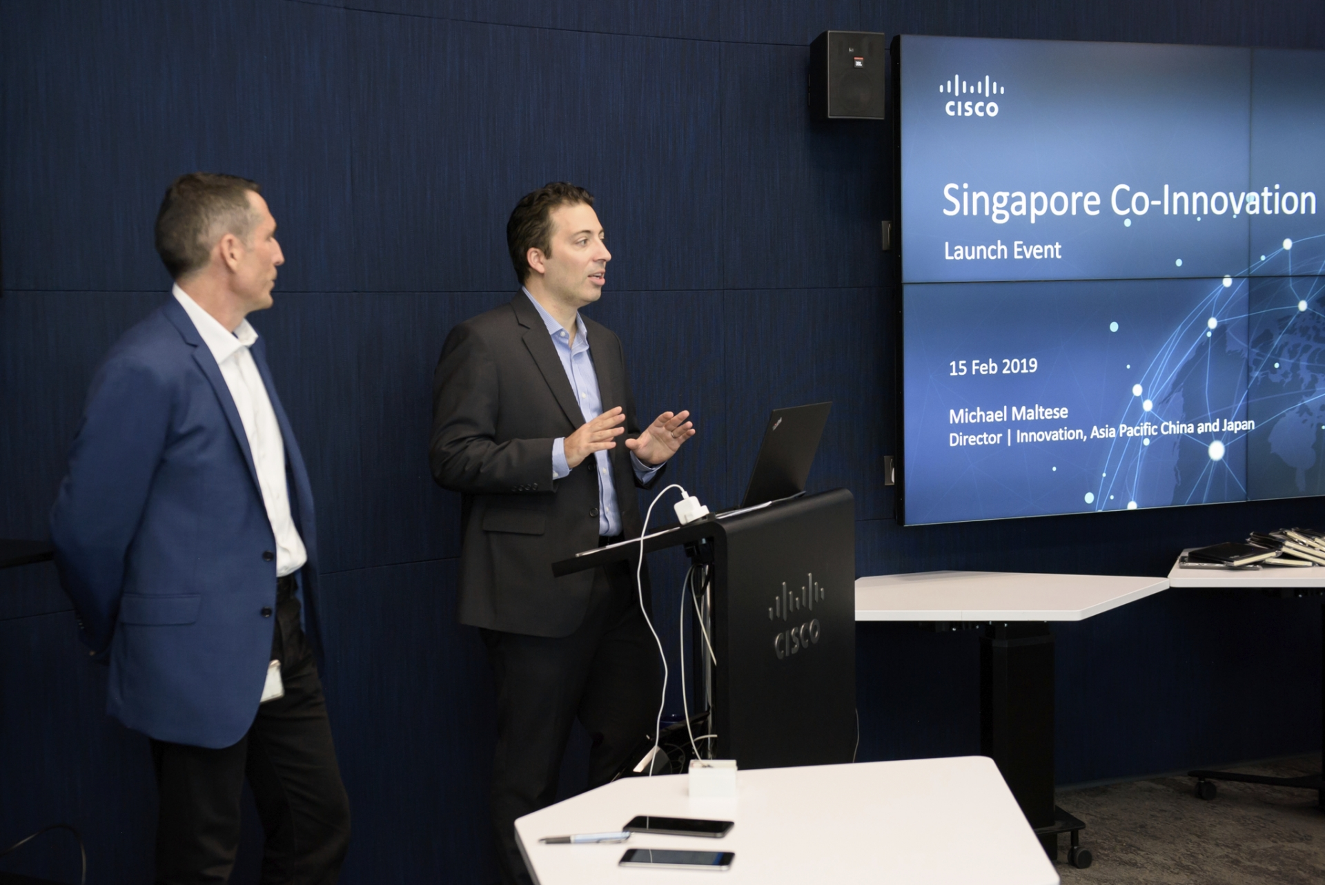 Cisco Co-Innovation Centers accelerate opportunities