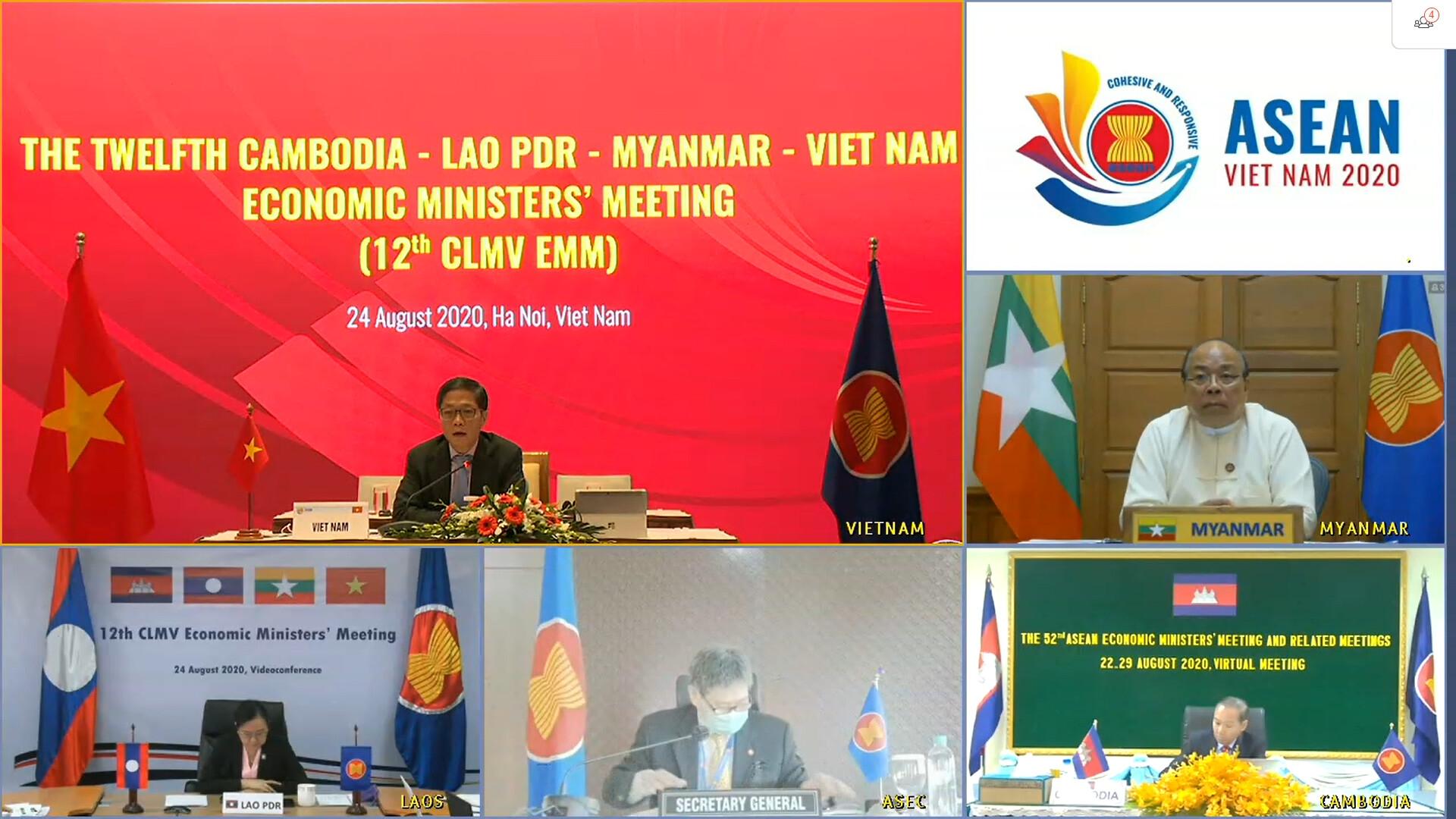 Ministers endorse CLMV Action Plan 2021-2022