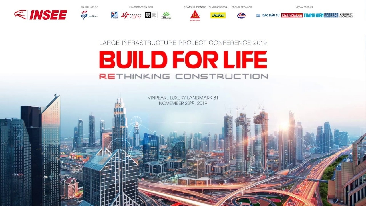 INSEE conference on rethinking construction from the ground up