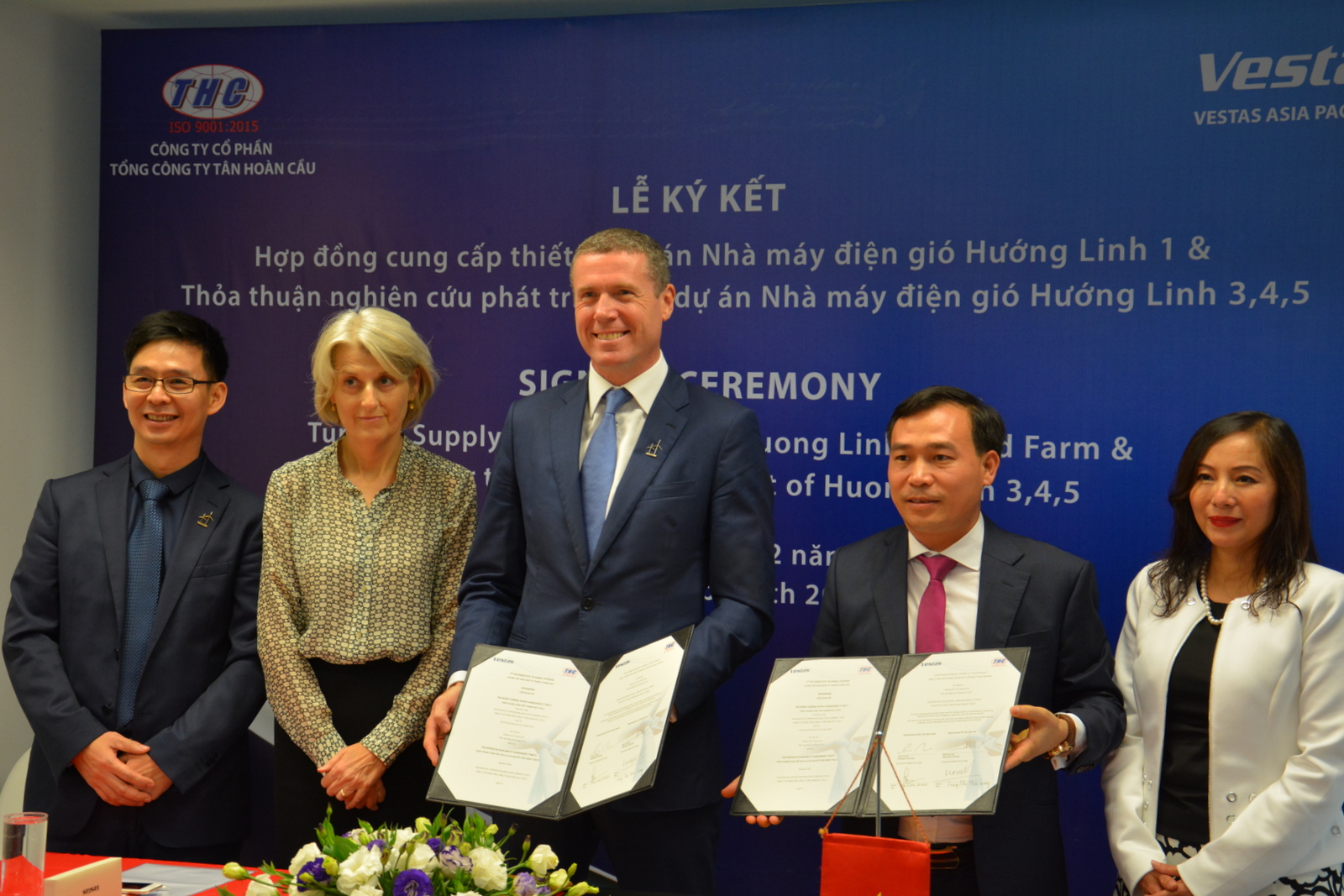 Vestas and Tan Hoang Cau sign MoU aims to accelerate wind farm development