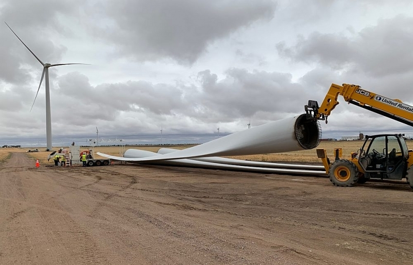 GE Renewable Energy announces US blade recycling contract with Veolia