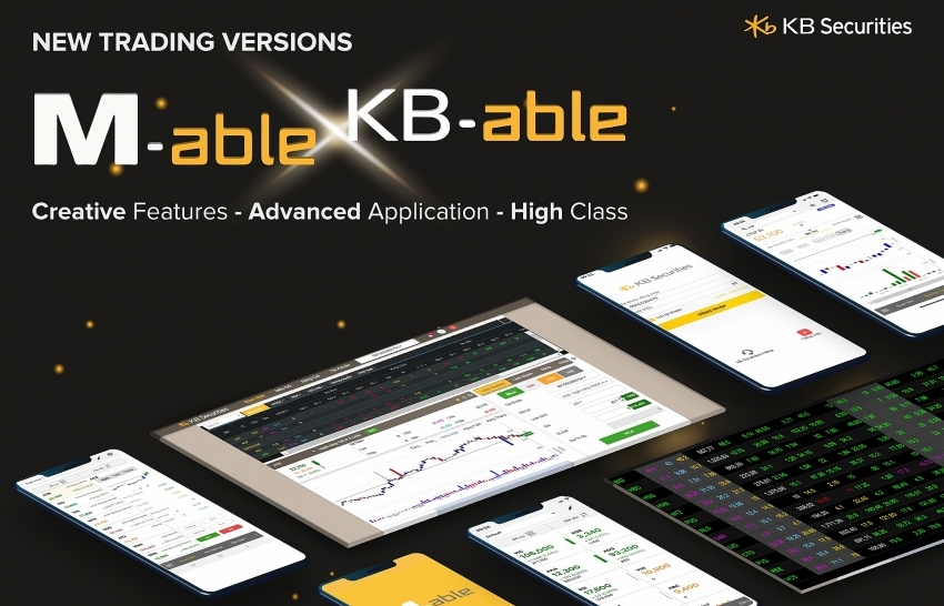 KBSV launches mobile trading app M-able