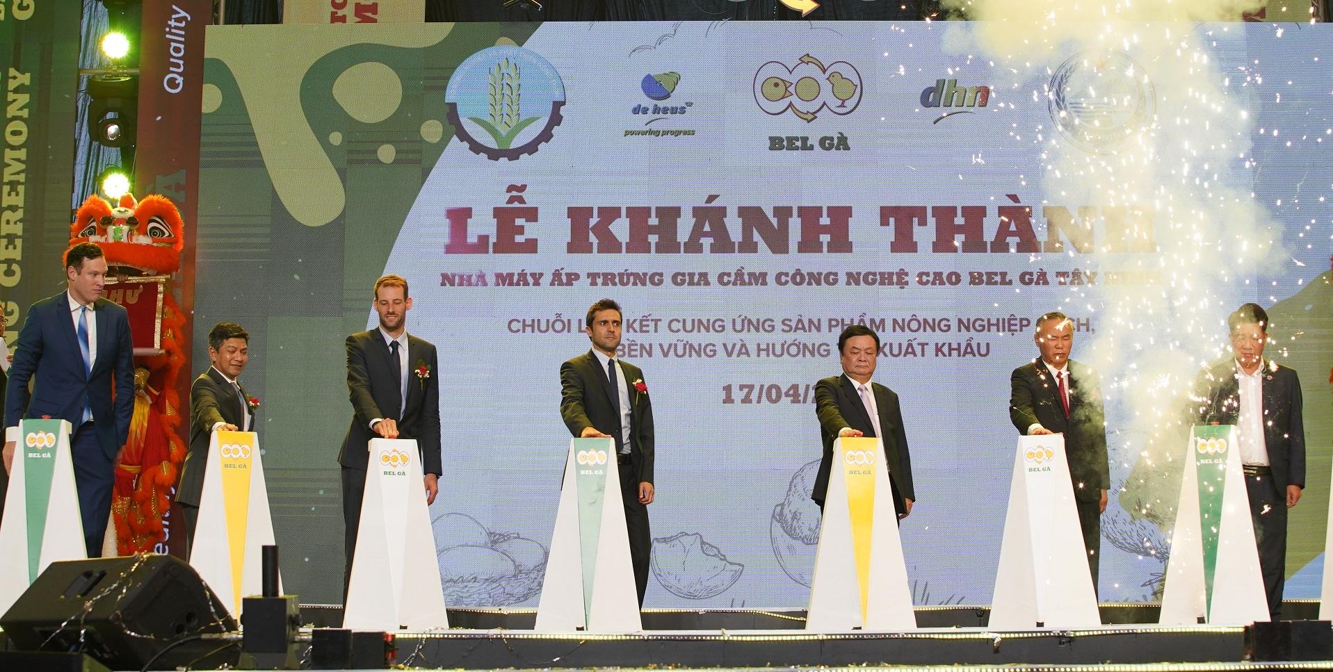 Bel Ga holds grand opening for Tay Ninh high-tech hatchery