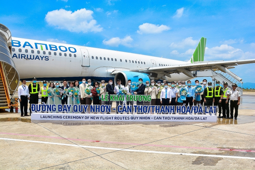bamboo airways opens eight routes connecting phu quoc and quy nhon
