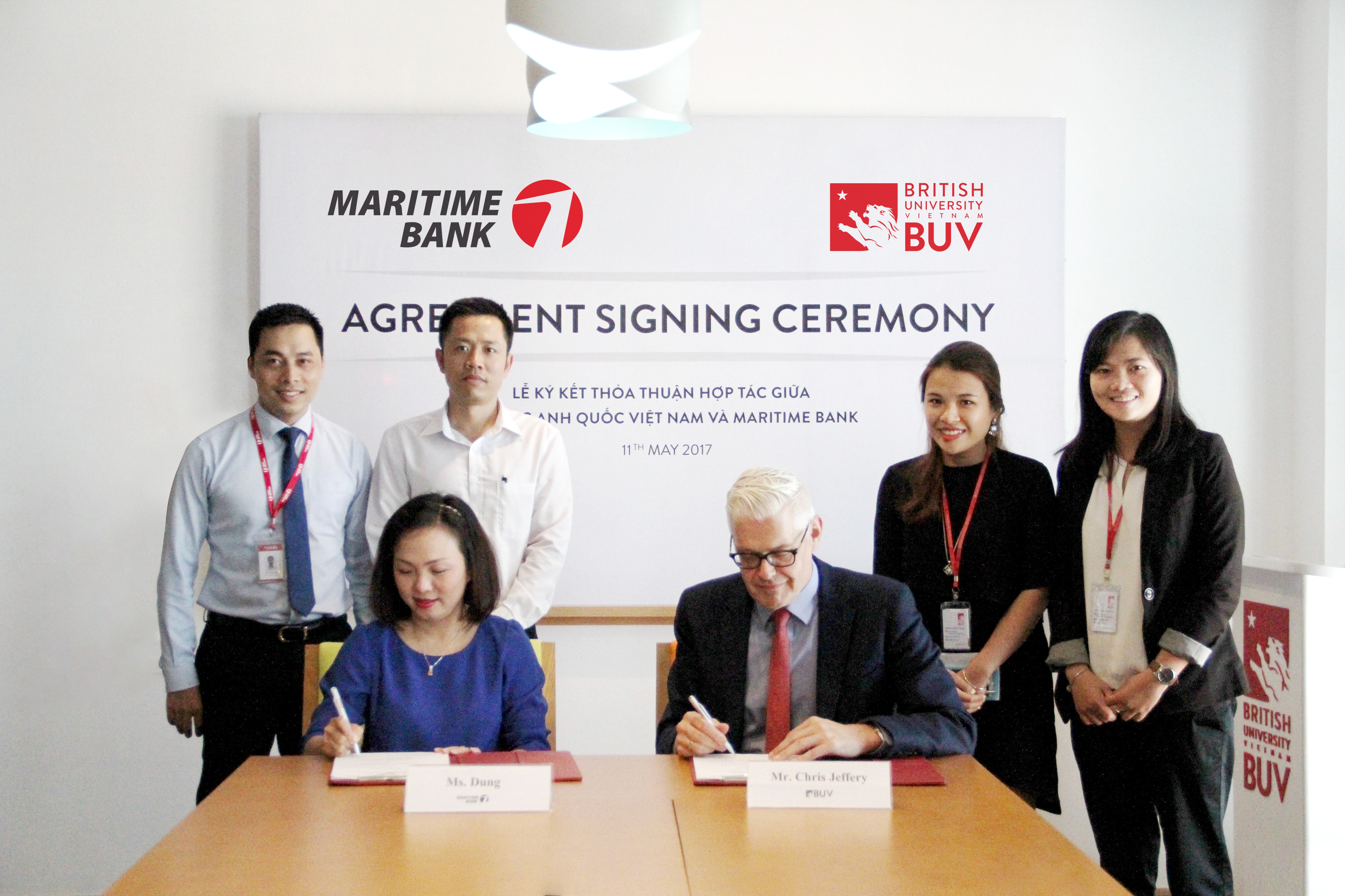 BUV and Maritime Bank partner up to offer wider access to British education