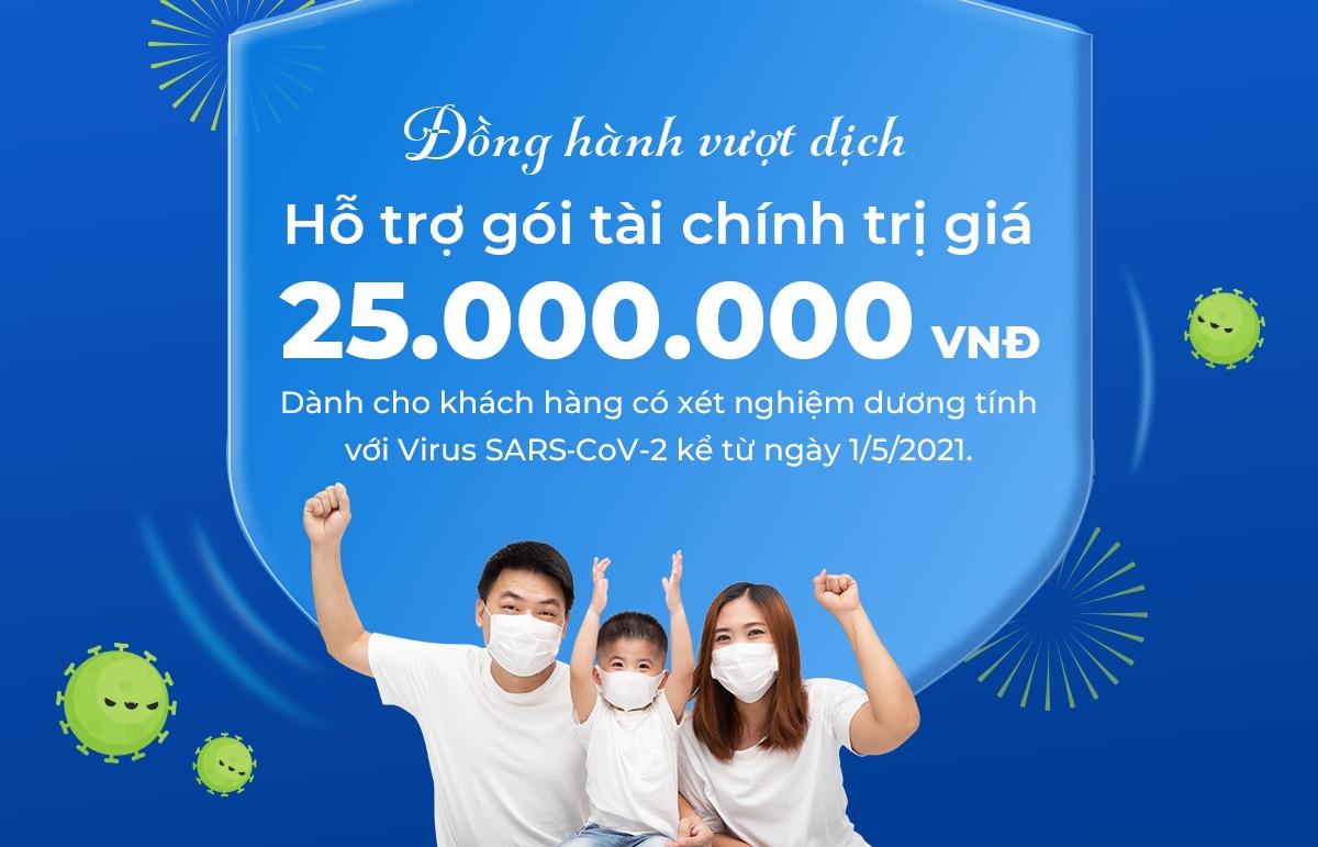 BIDV MetLife provides VND25 million coverage to COVID-19 positive customers