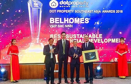 vsip bac ninh begins handover of belhomes houses