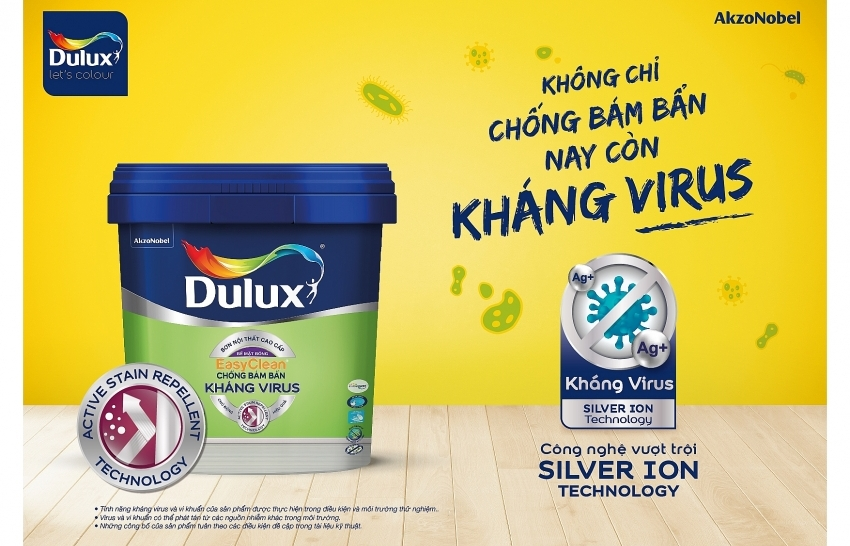 Dulux from AkzoNobel launches new anti-virus and bacteria paint for better protection