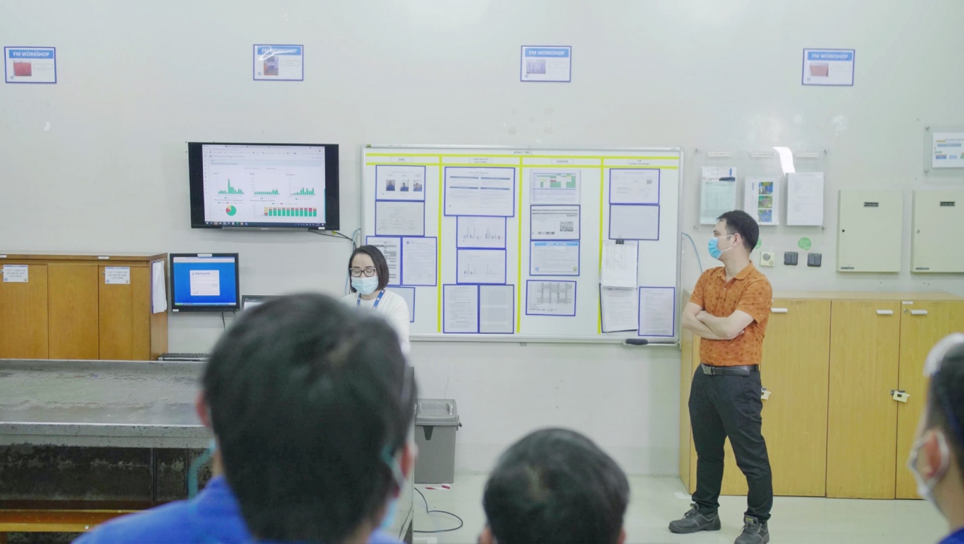 Advancing local capacity – key to a seamless production