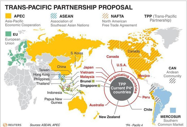 """""""Reasonable chance"""" for TPP at APEC 2017"""