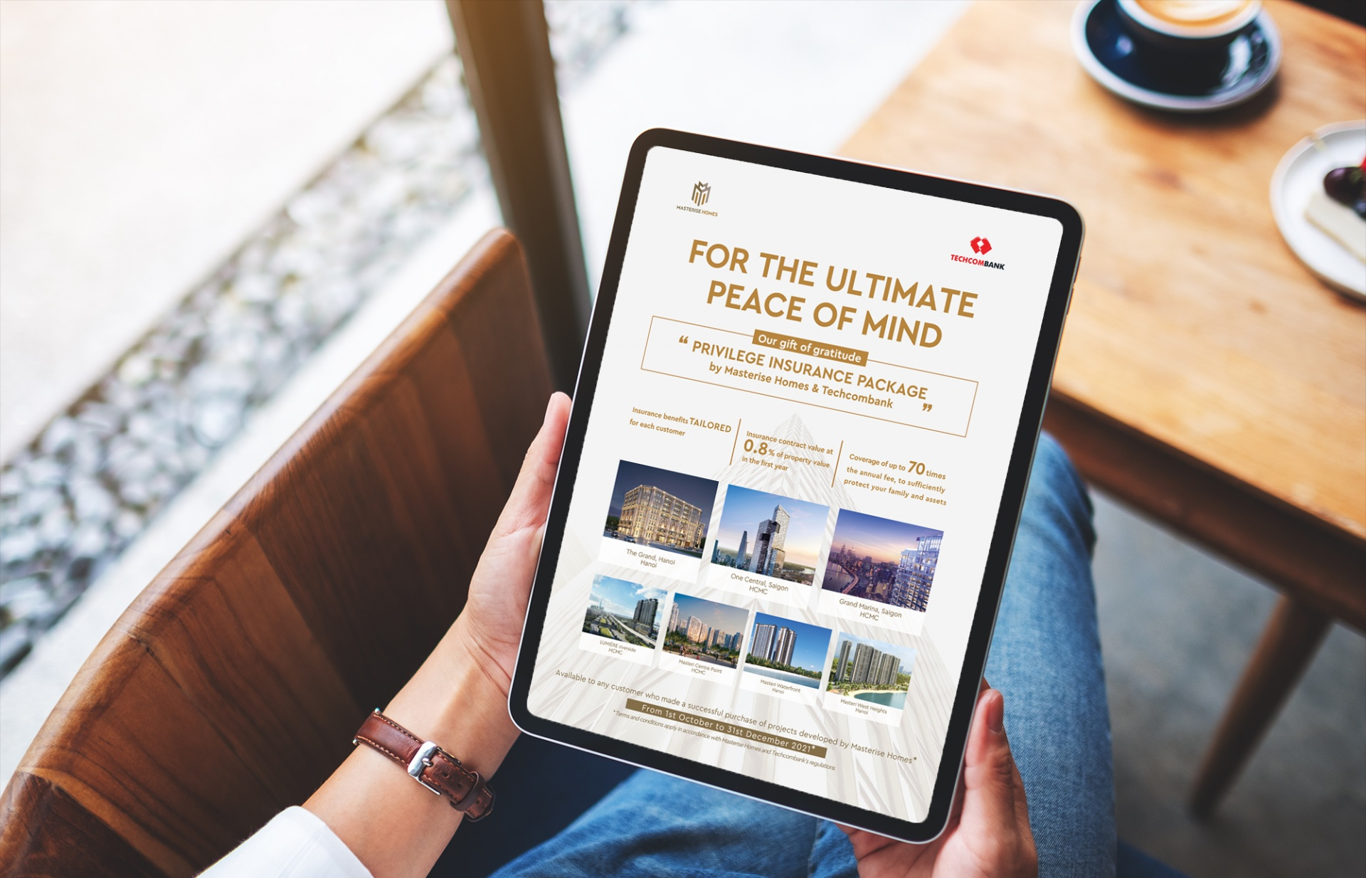 Masterise Homes launches Privileged Insurance creative customer appreciation programme