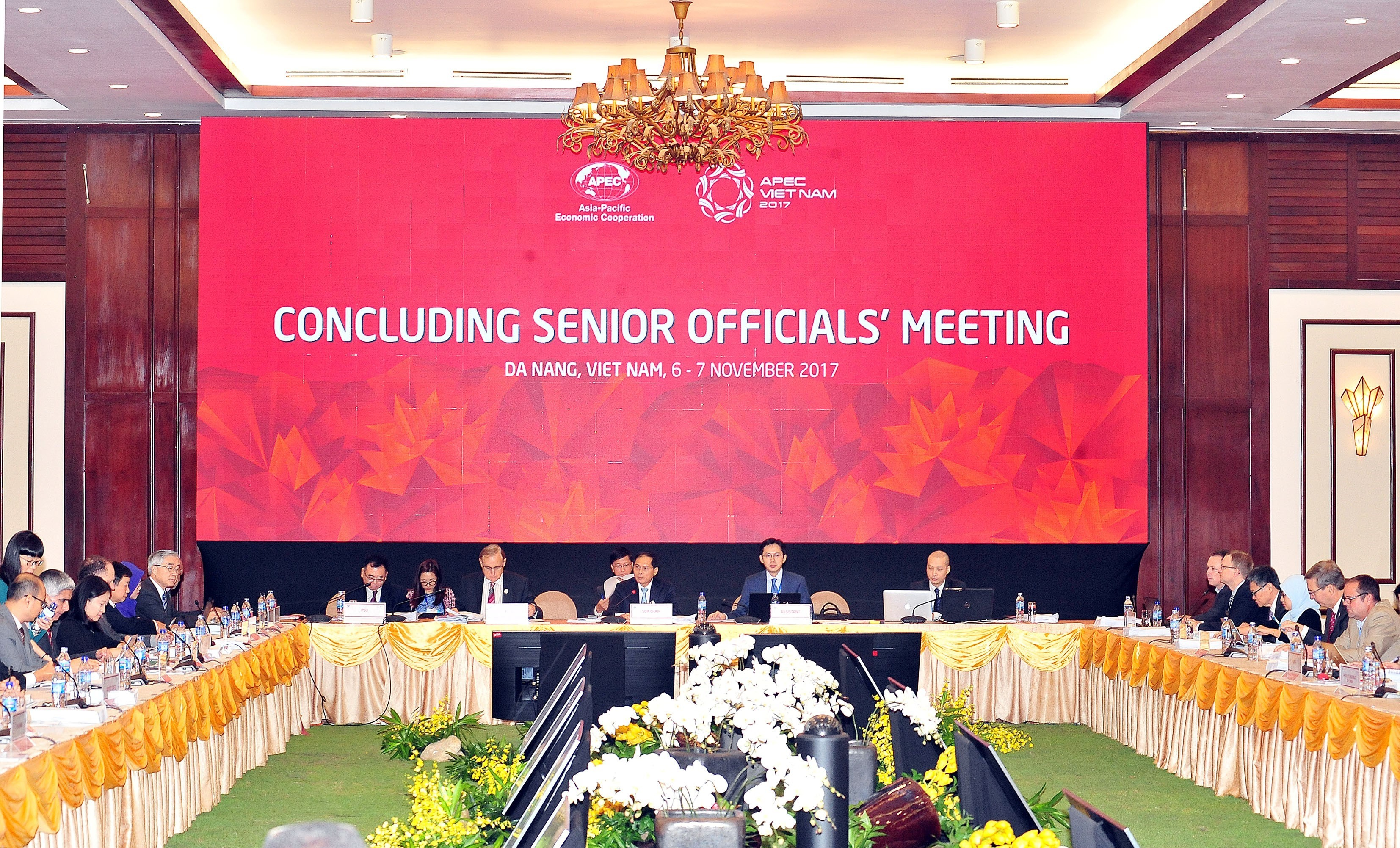 Concluding Senior Officials' Meeting kicked off in Danang