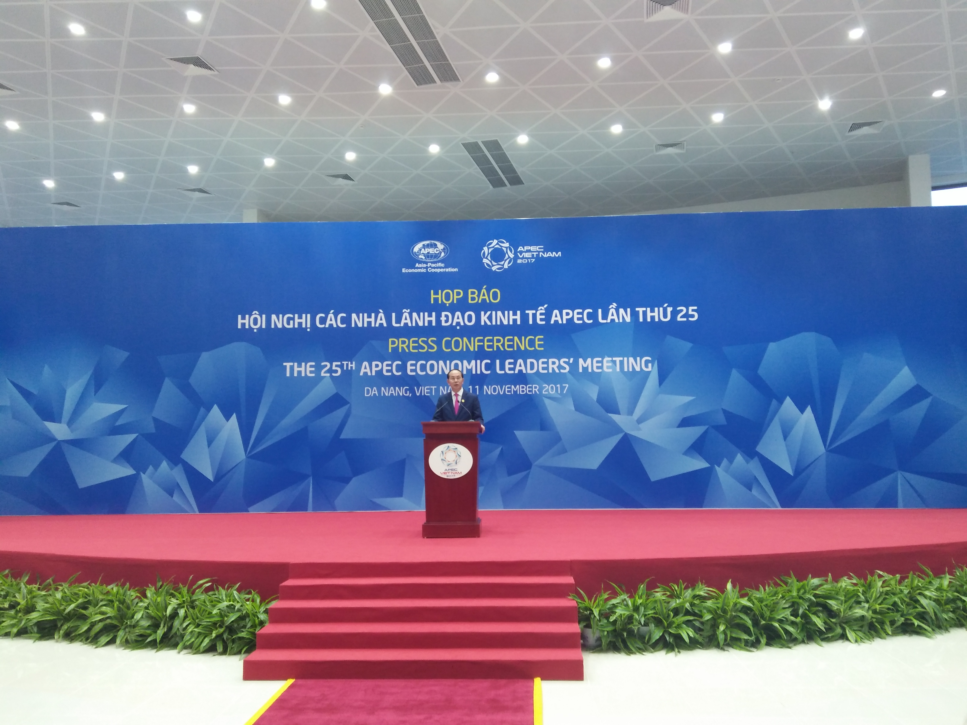 APEC Economic Leaders' Meeting concluded with milestone achivements