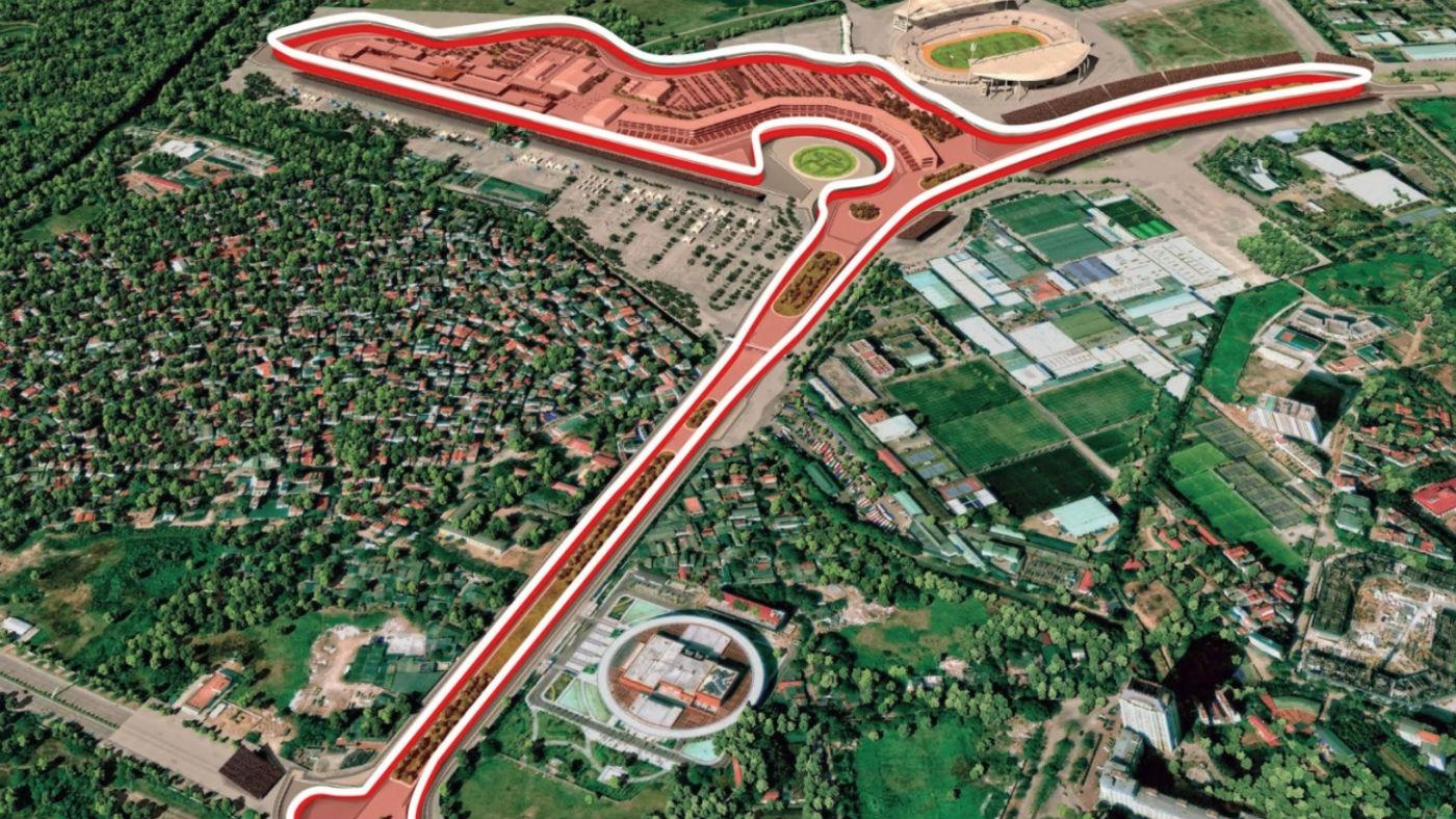 Hanoi begins construction of F1 racetrack