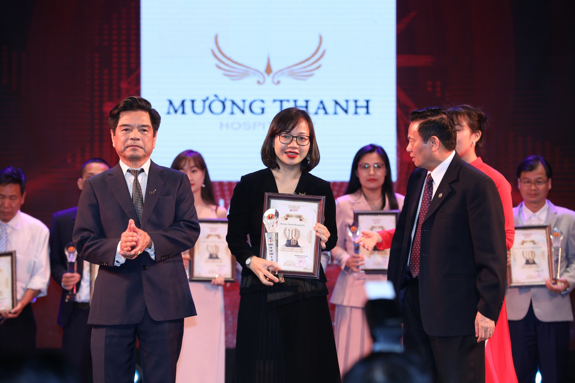 Muong Thanh among top 10 most prestigious and highest-quality brands