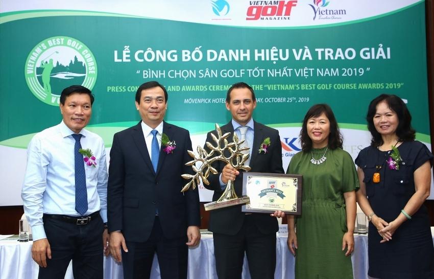 The winners of Vietnam's Best Golf Course Awards 2019