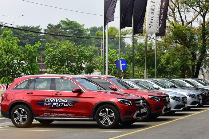 The first Mercedes-Benz MAR2020 showroom inaugurated in Vietnam