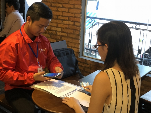 easy credit expands lending services in southern vietnam
