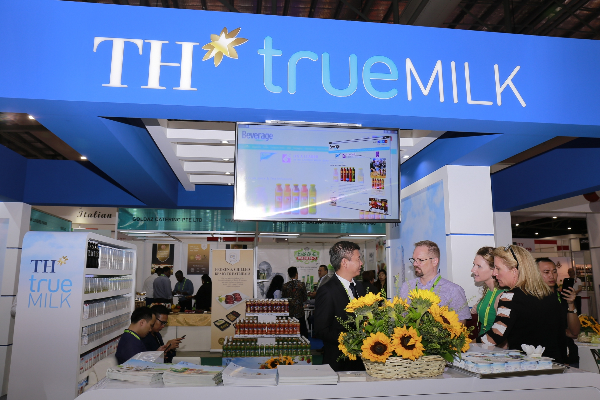 TH Group expands business to Singapore